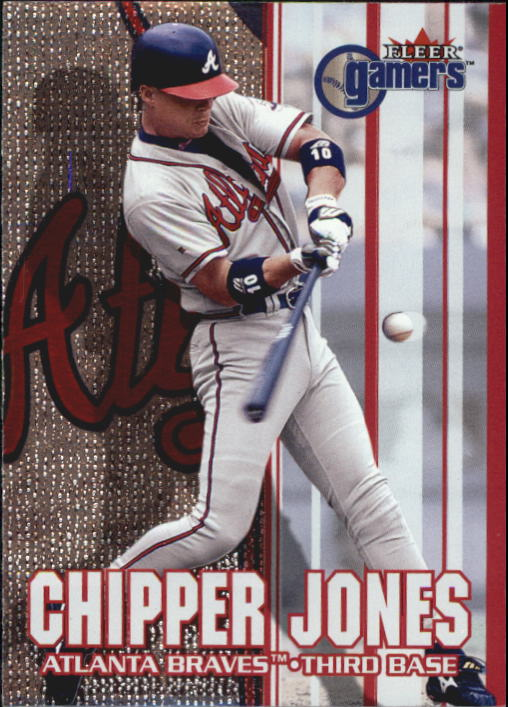 2000 Fleer Gamers #70 Chipper Jones