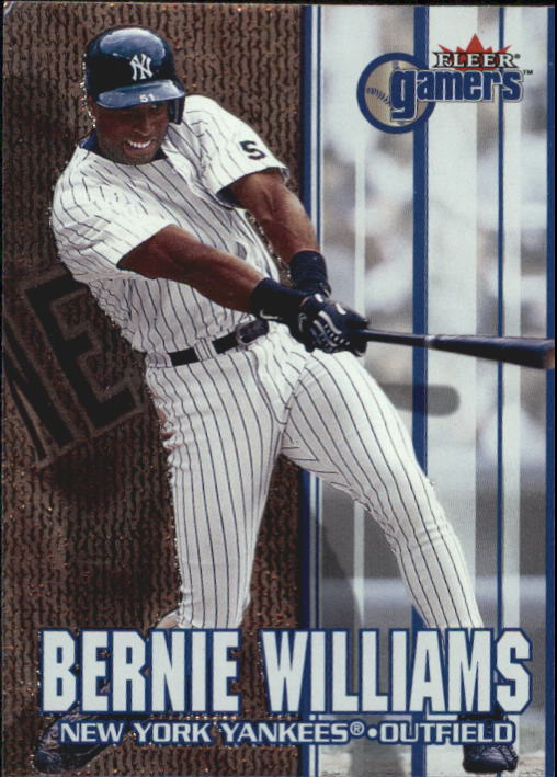 2000 Fleer Gamers #78 Bernie Williams
