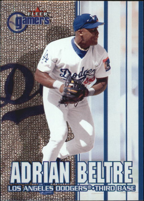 2000 Fleer Gamers #81 Adrian Beltre