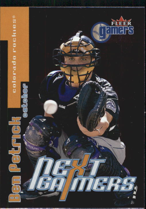 2000 Fleer Gamers #97 Ben Petrick NG