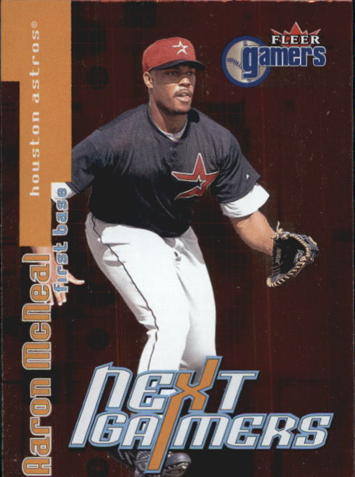 2000 Fleer Gamers #101 Aaron McNeal NG RC