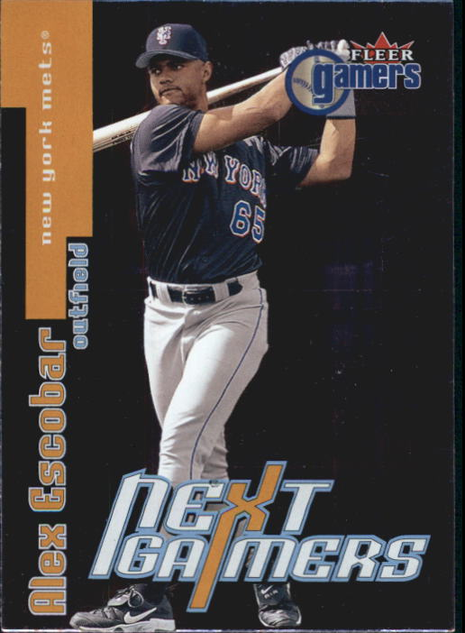2000 Fleer Gamers #103 Alex Escobar NG