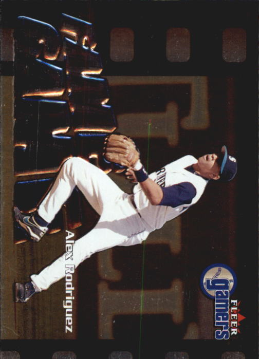 2000 Fleer Gamers #111 Alex Rodriguez FG