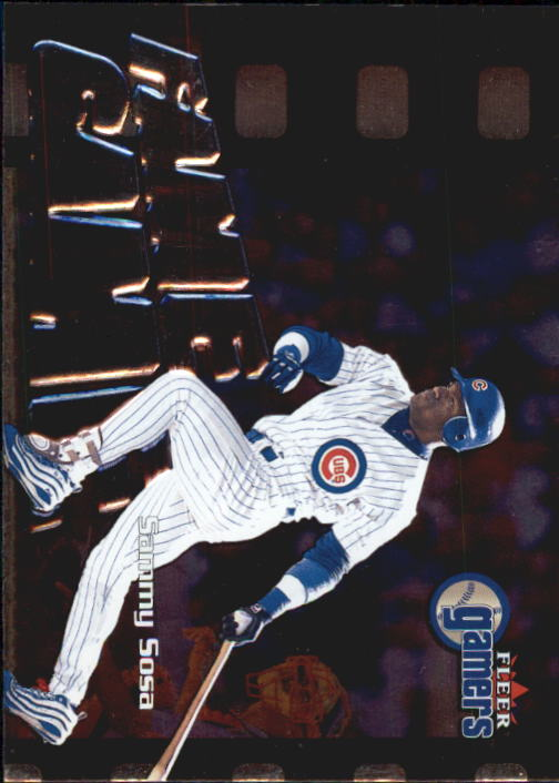 2000 Fleer Gamers #119 Sammy Sosa FG