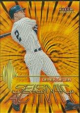 2000 Fleer Mystique Seismic Activity #SA3 Derek Jeter
