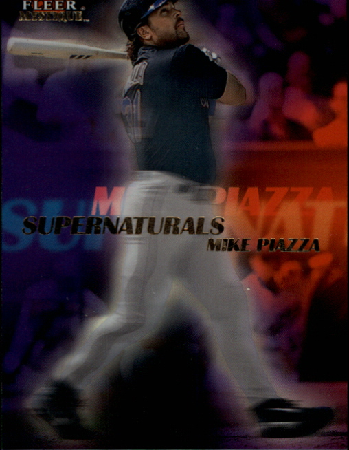 2000 Fleer Mystique Supernaturals #S7 Mike Piazza