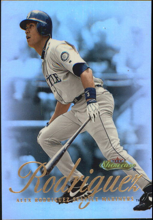 2000 Fleer Showcase #1 Alex Rodriguez