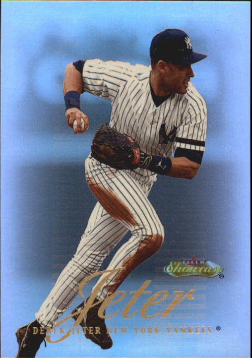 2000 Fleer Showcase #2 Derek Jeter