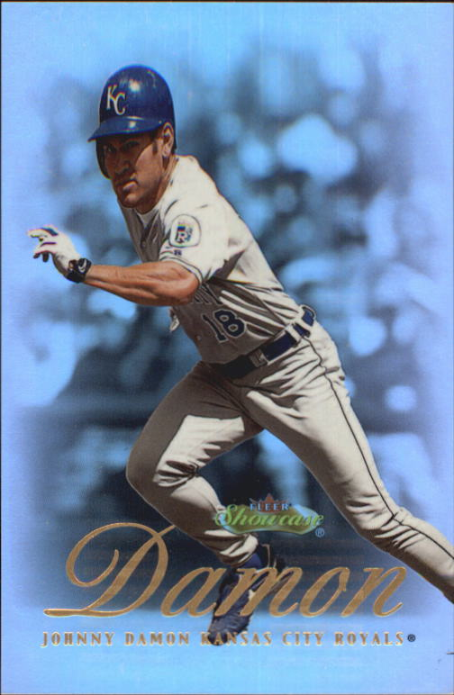 2000 Fleer Showcase #6 Johnny Damon