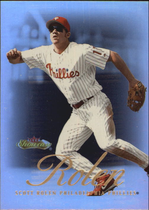 2000 Fleer Showcase #10 Scott Rolen