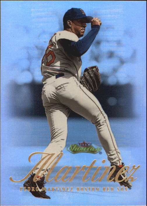 2000 Fleer Showcase #12 Pedro Martinez