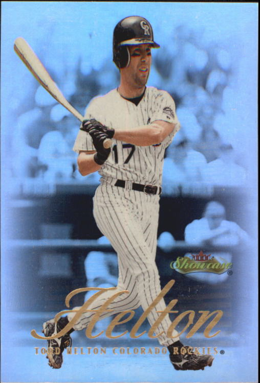 2000 Fleer Showcase #13 Todd Helton