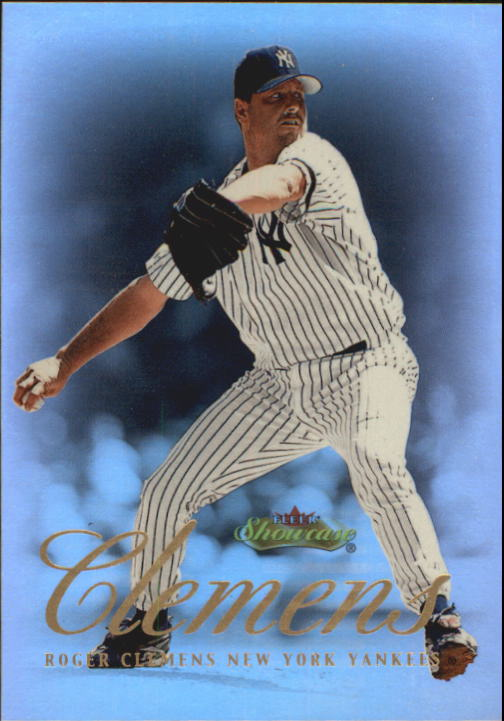 2000 Fleer Showcase #18 Roger Clemens