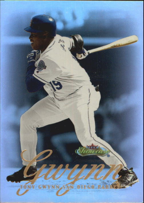 2000 Fleer Showcase #19 Tony Gwynn