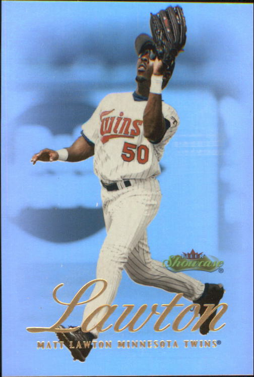 2000 Fleer Showcase #22 Matt Lawton