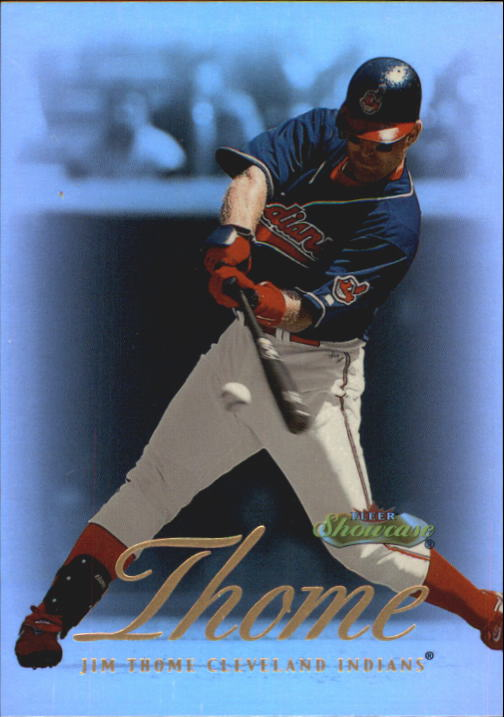2000 Fleer Showcase #25 Jim Thome