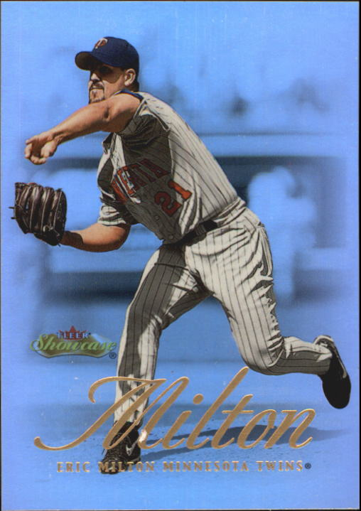 2000 Fleer Showcase #26 Eric Milton