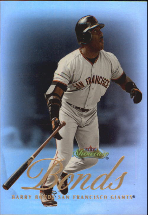 2000 Fleer Showcase #27 Barry Bonds