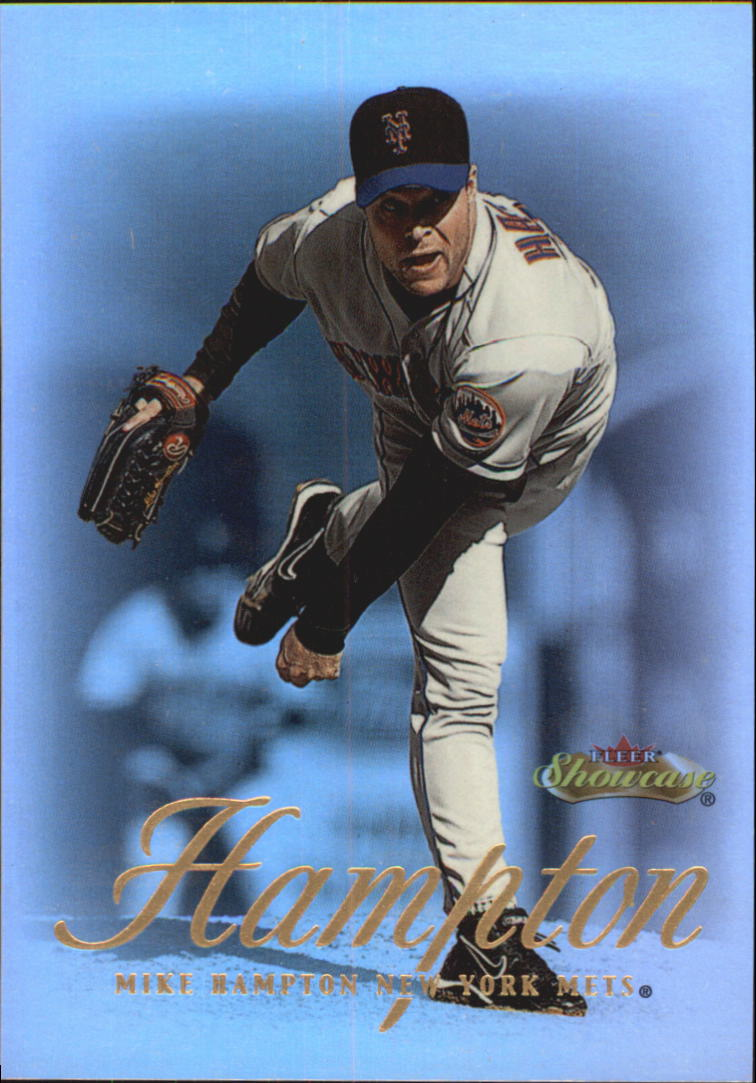 2000 Fleer Showcase #34 Mike Hampton