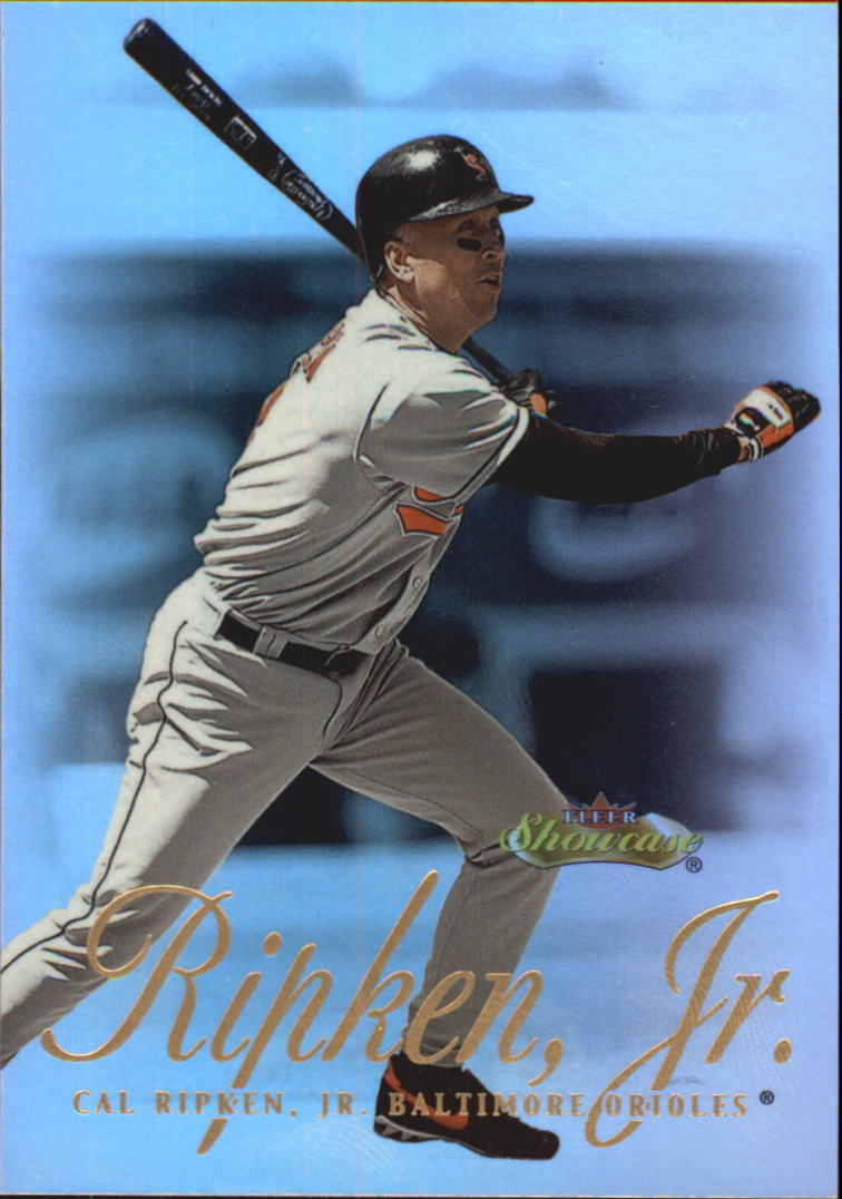 2000 Fleer Showcase #36 Cal Ripken