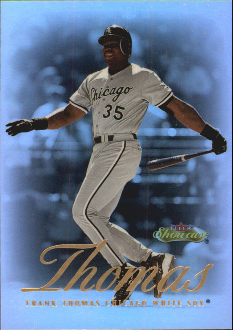 2000 Fleer Showcase #41 Frank Thomas