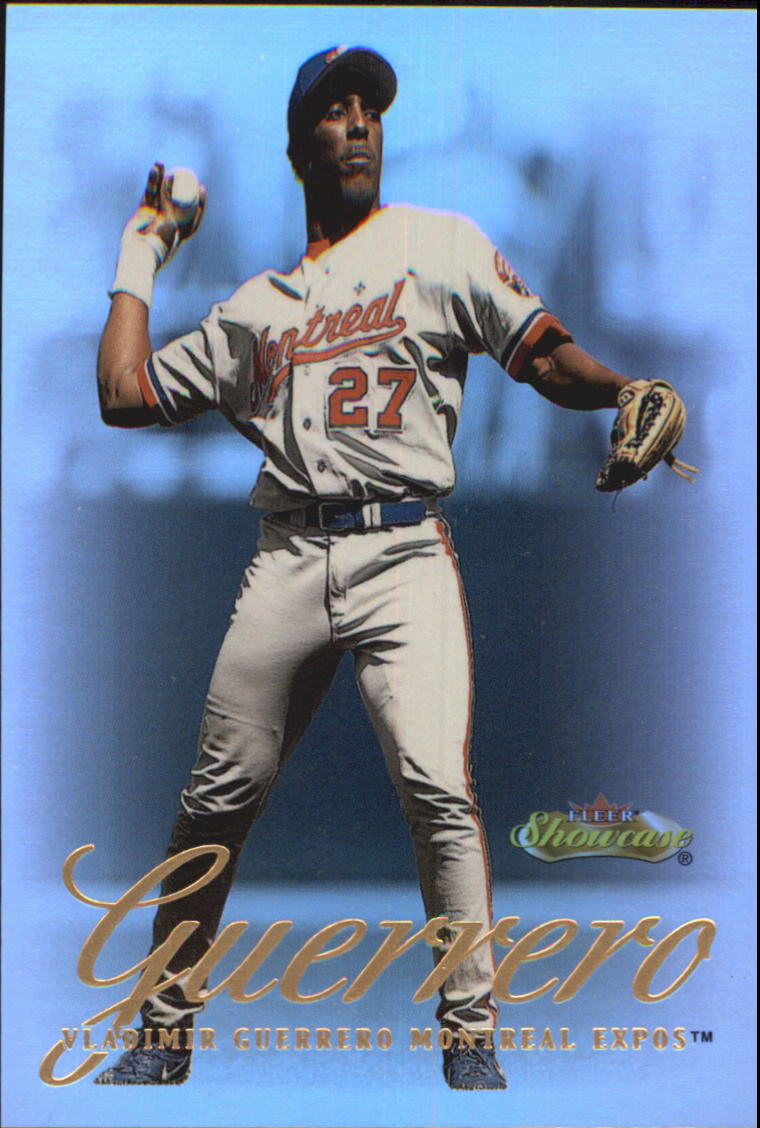 2000 Fleer Showcase #51 Vladimir Guerrero