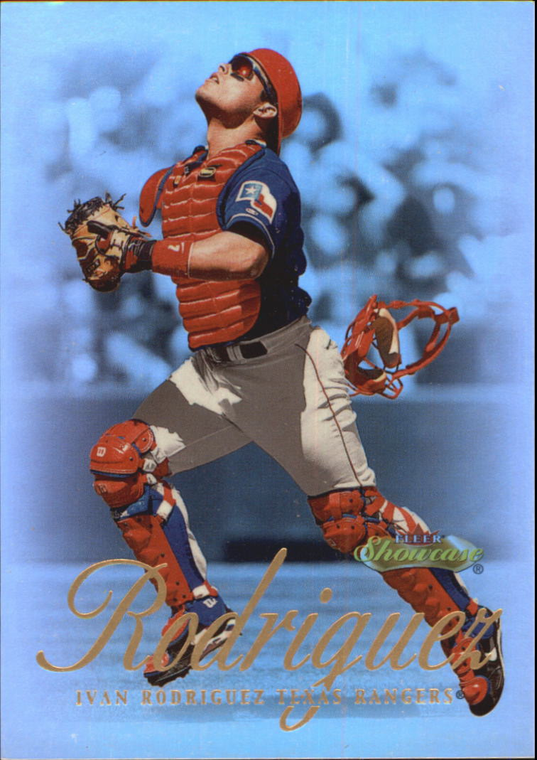 2000 Fleer Showcase #57 Ivan Rodriguez