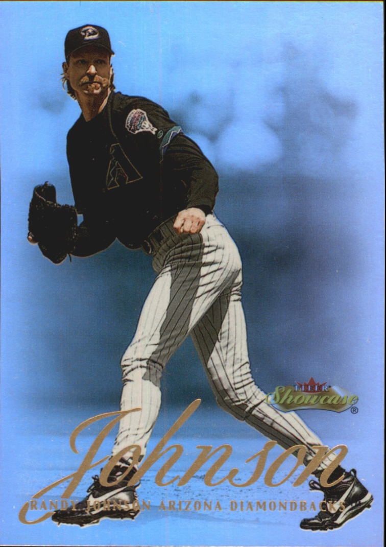 2000 Fleer Showcase #65 Randy Johnson