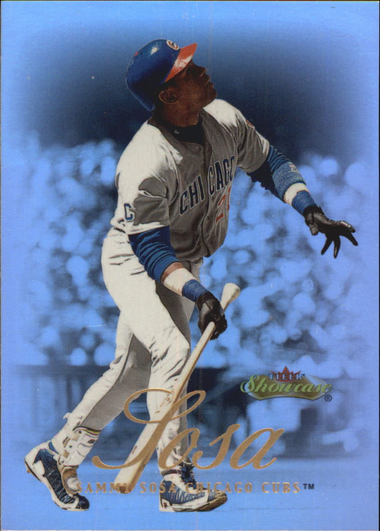 2000 Fleer Showcase #72 Sammy Sosa