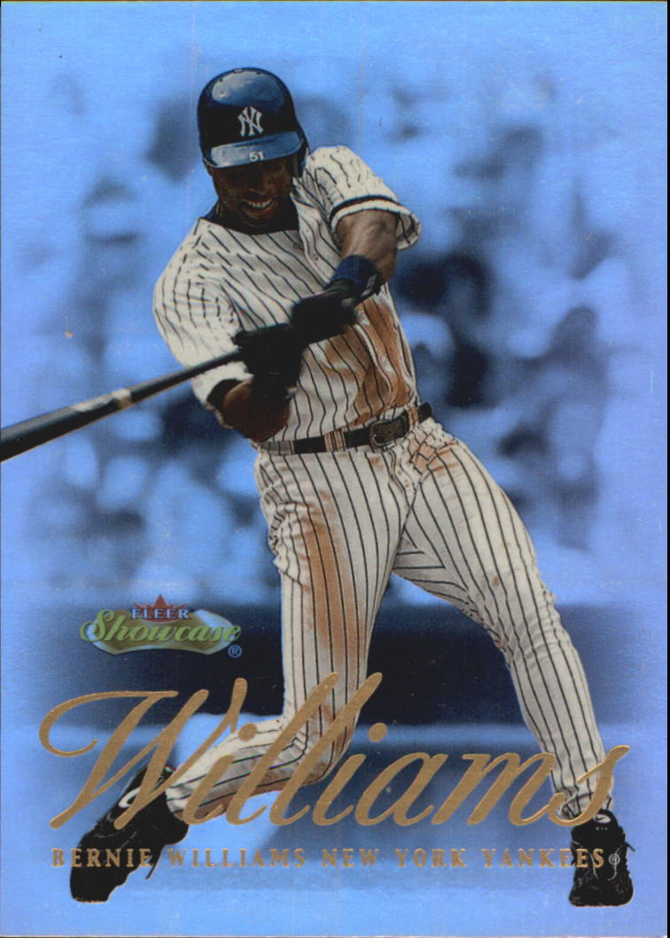 2000 Fleer Showcase #75 Bernie Williams
