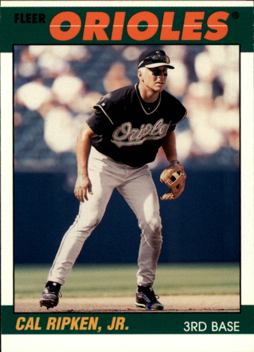2000 Fleer Tradition Ripken Collection #8 Cal Ripken '87 BK front image