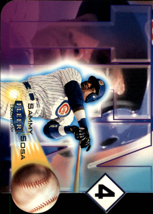 2000 Fleer Tradition Ten-4 #TF1 Sammy Sosa