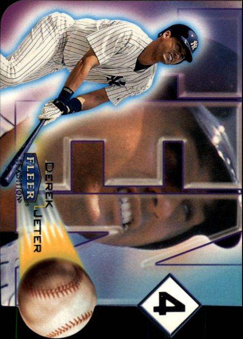 2000 Fleer Tradition Ten-4 #TF7 Derek Jeter