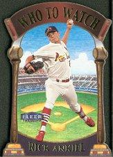 2000 Fleer Tradition Who To Watch #WW1 Rick Ankiel