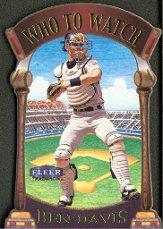 2000 Fleer Tradition Who To Watch #WW11 Ben Davis