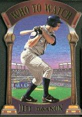 2000 Fleer Tradition Who To Watch #WW12 Jeff DaVanon