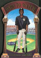 2000 Fleer Tradition Who To Watch #WW13 D'Angelo Jimenez