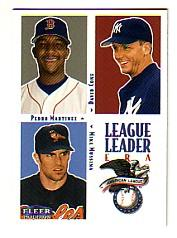 2000 Fleer Tradition Glossy #9 AL ERA LL