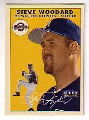 2000 Fleer Tradition Glossy #21 Steve Woodard