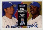 2000 Fleer Tradition Glossy #55 D.Brown/M.Quinn