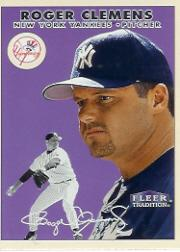 2000 Fleer Tradition Glossy #279 Roger Clemens