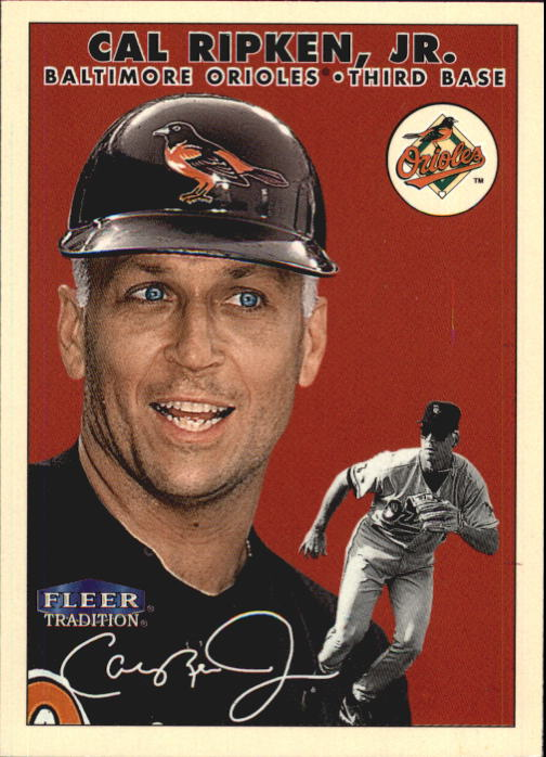 2000 Fleer Tradition Glossy #353 Cal Ripken