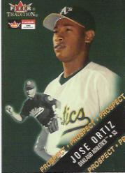 2000 Fleer Tradition Glossy #461 Jose Ortiz RC
