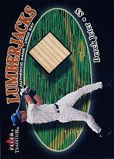 2000 Fleer Tradition Glossy Lumberjacks #21 Derek Jeter/180