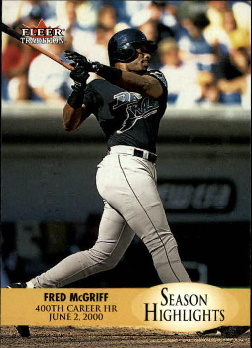 2000 Fleer Tradition Update #4 Fred McGriff SH