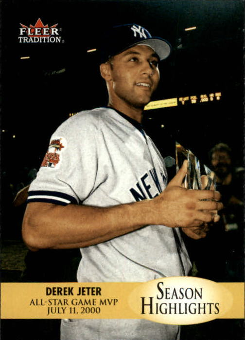 2000 Fleer Tradition Update #5 Derek Jeter SH