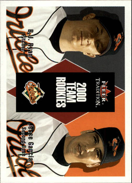 2000 Fleer Tradition Update #65 J.Garcia/B.Ryan