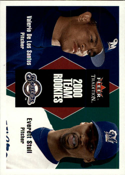 2000 Fleer Tradition Update #73 V.De Los Santos/E.Stull