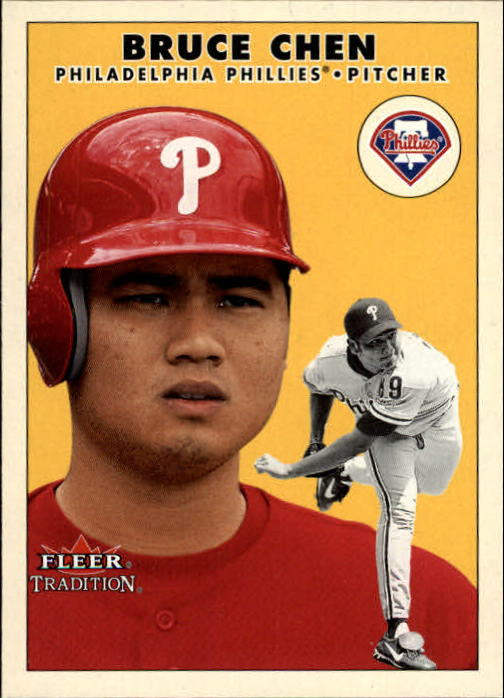 2000 Fleer Tradition Update #113 Bruce Chen