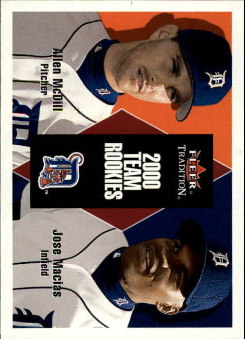 2000 Fleer Tradition Update #116 A.McDill RC/J.Macias